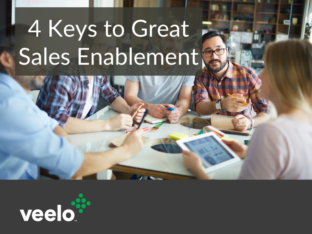 4 Keys to Great Sales Enablement