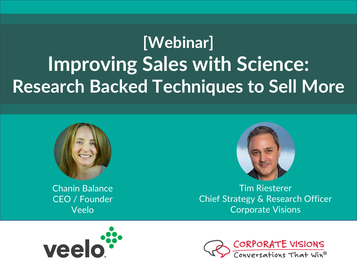 improving sales with science