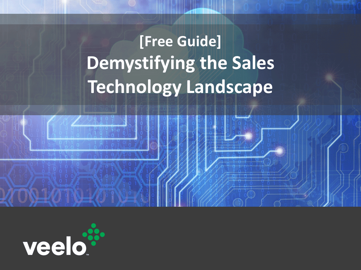 Demystifying the Sales Technology Landscape