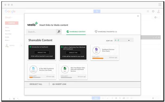 Veelo Gmail integration