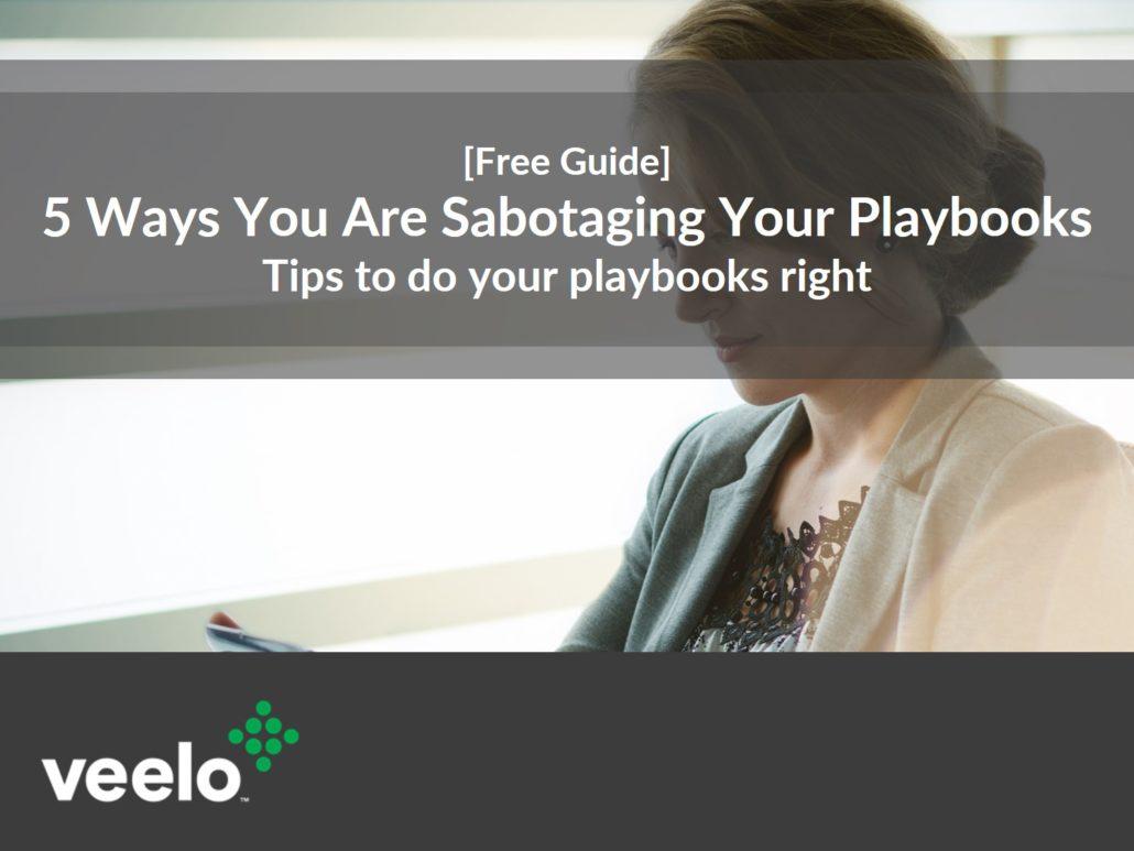sales playbooks, sales enablement platform