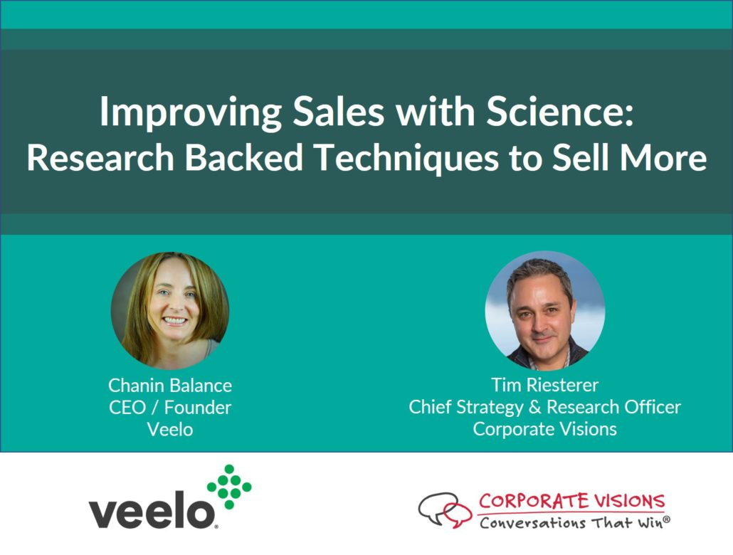 science of sales training, sales enablement