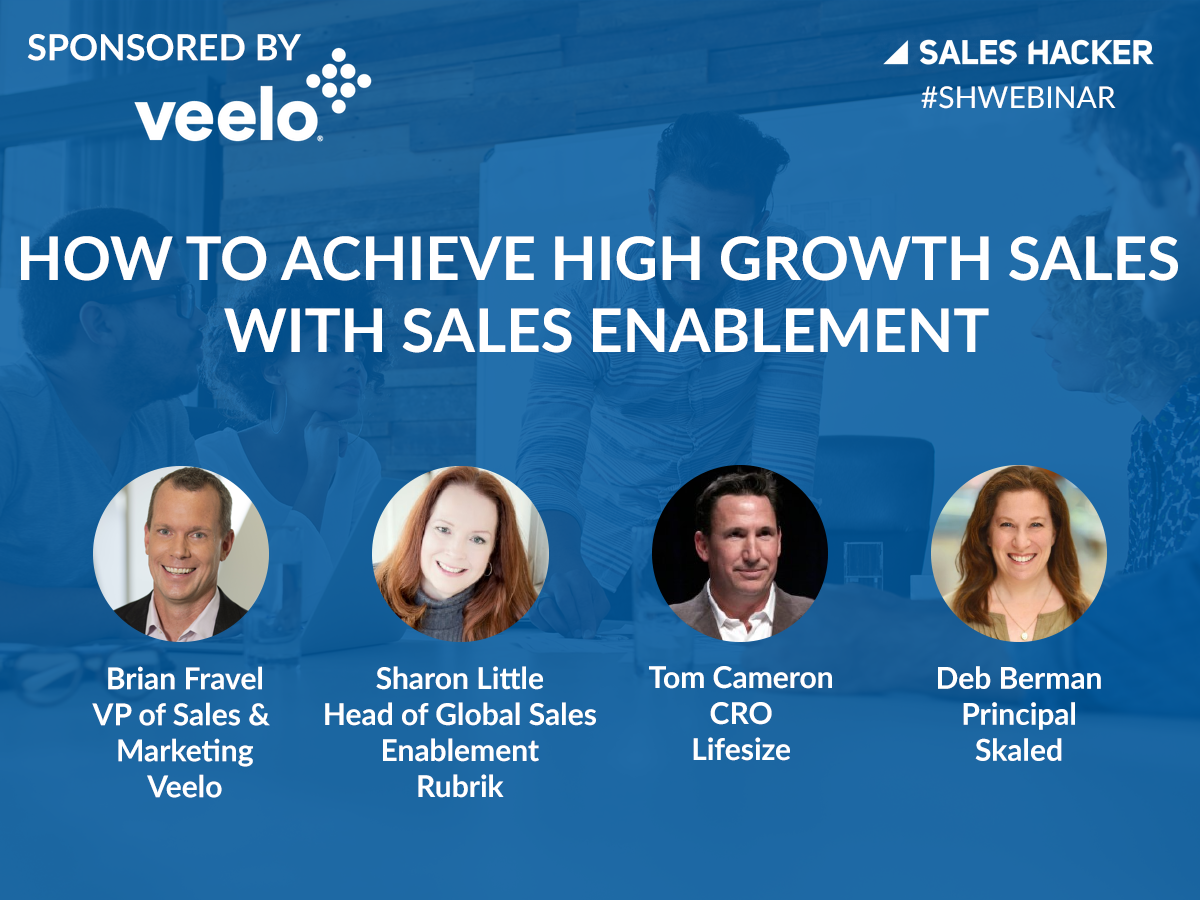 How to Achieve How Growth Sales with Sales Enablement