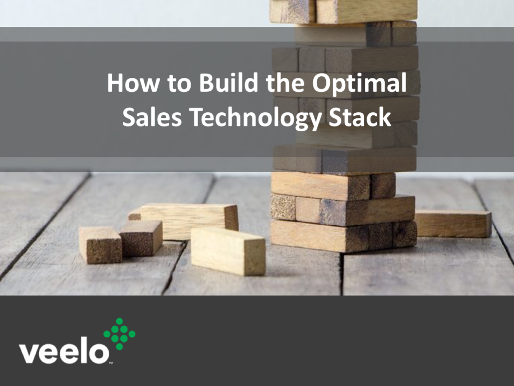 how to build the optimal sales technology stack